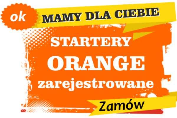 Sprzedam zarejestrowane karty sim orange Mrocza  zadzwoń 887 332 665